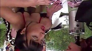 Carmen Enjoys Orgy in the Garden