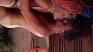 Retro orgasm in missionary stance
