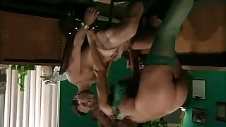 retro huge-chested milf anal in office
