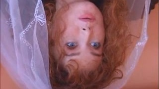 Molten ginger bride fucks an Indian honey with her husband