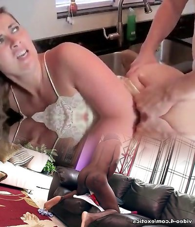 Hot mommy gets fucked by stepson
