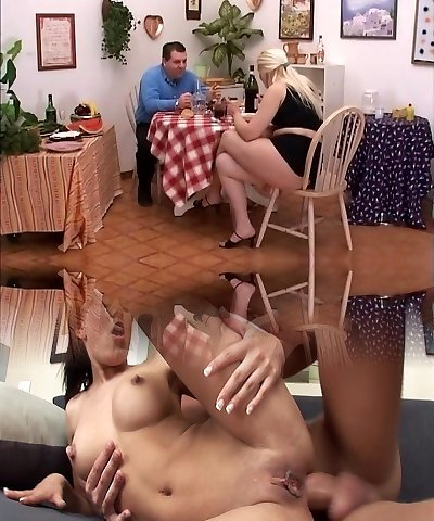 Exotic porn industry star in jaw-dropping facial, mature adult video