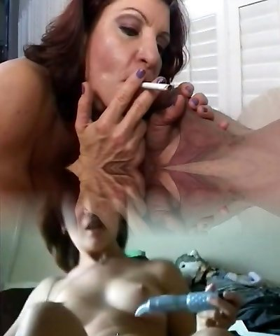Milf Smoking Blow-job