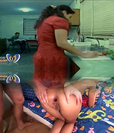 Poking Cougar Before Her Husband Coming Home Teaser