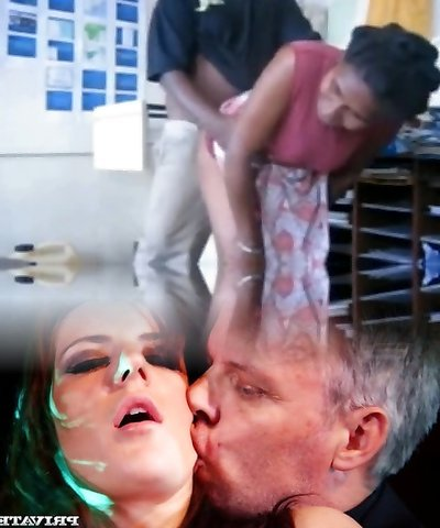 Concoction mix of mature PNG nymphs fucking and sucking
