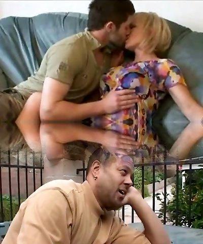 Slutty mom fuck her daughters boyfriend