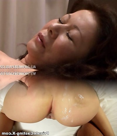 Chizuru Iwasaki hot mature Asian nymph is fucked rock-hard