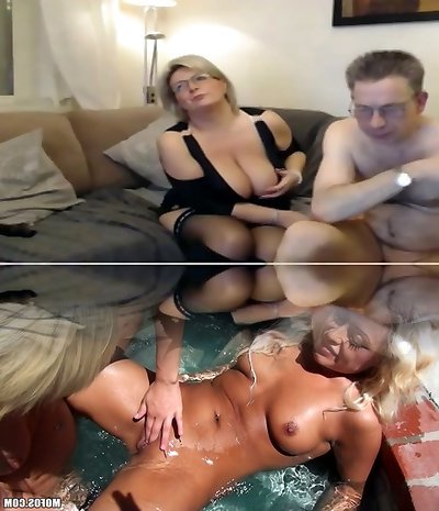 Mature mother have a cam sex with big perfect tits
