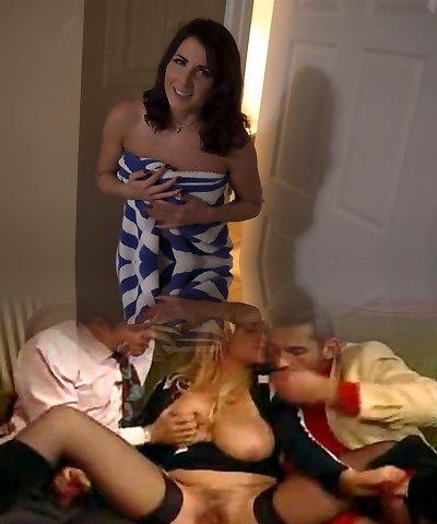 Giving My Buddies Mom A Massage Part 1