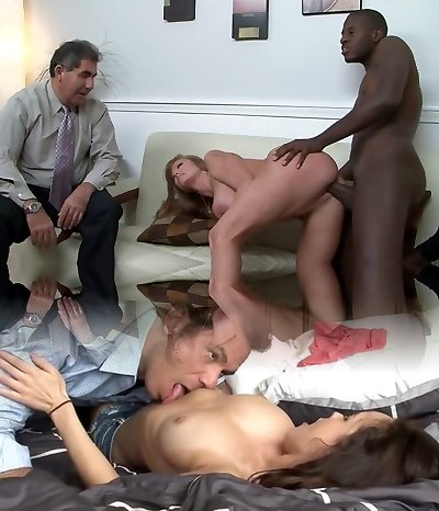 Free Gonzo Interracial MILF Video