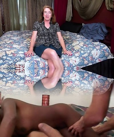 USAwives Granny Carmen Solo Toys Masturbation