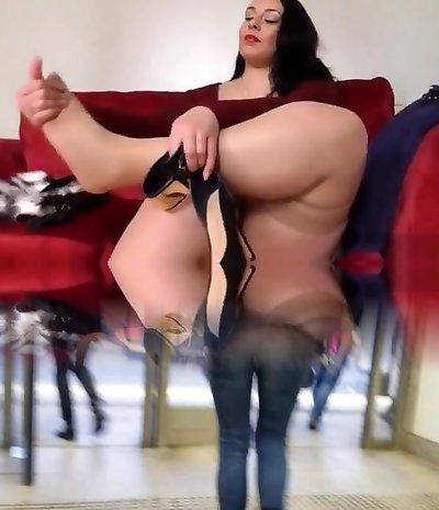 Anastasia Lux Solo - big arse booty backsides