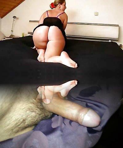 very big nice white ass