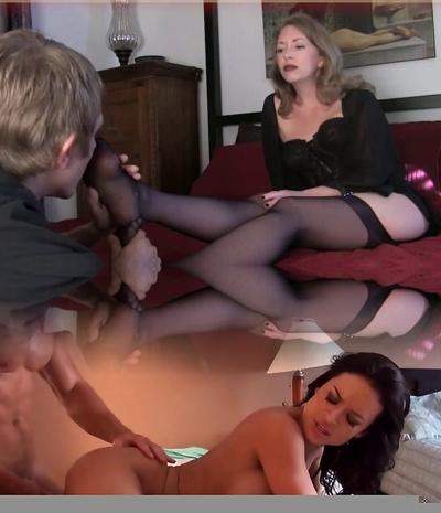 Mature sole fetish