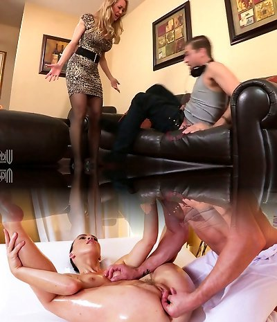 Rapacious mom with humungous boobs Brandi Love banged well by a horny man