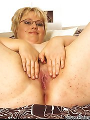 Andrea is a sensitive porker. The chubby hotty never says no to seconds, no matter whether...