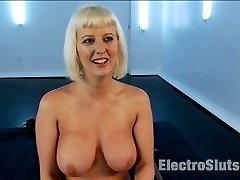 In this severe electro bondage update Cherry Torn is tied in a restrictive strapado position...