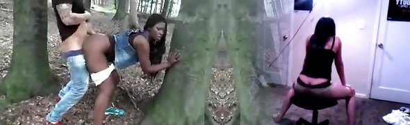 Ebony Wife Penetrated Outdoor By White Man Rod Cuckold Film