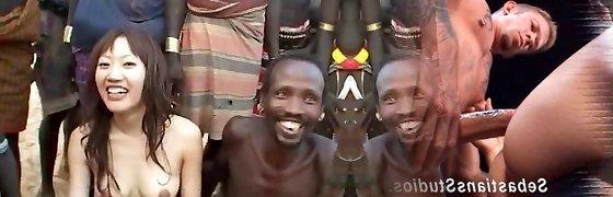africa orgy