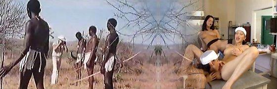 African enormous hard-ons !real safari!