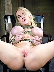 Darling is another big time bondage legend who never does boygirl sex. Or at least she was until...