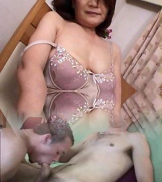 Matures, Asian Masturbation