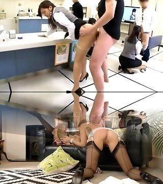 Fucking Machines, Group Sex