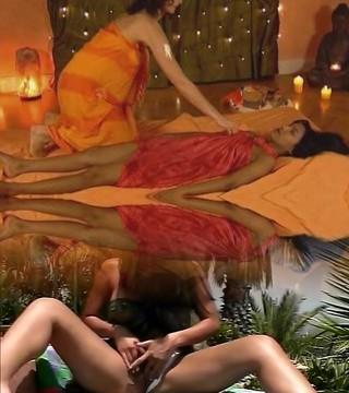 Massage, Oil
