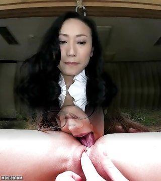 Asian Bondage Enema