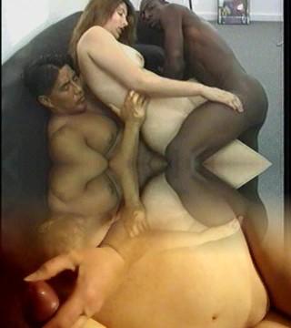 Interracial, Double Penetration