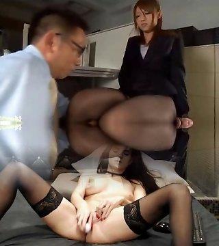 Couple, Japanese Censored