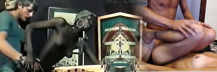 Hottest Black and Ebony, Vintage porn scene