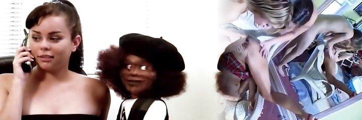 Black Demon Doll  (Hilarious B Movie Porn)