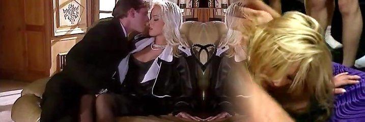 Silvia Saint Humps the Lawyer and Drains His Jizz
