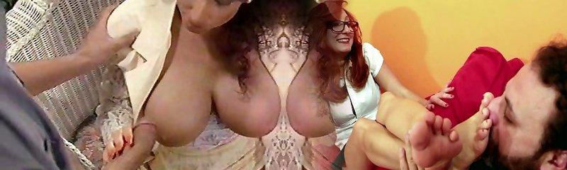 Sarah Young orb fuck and facial