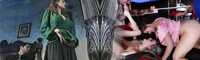 Luxurious chick in classic porn video 1