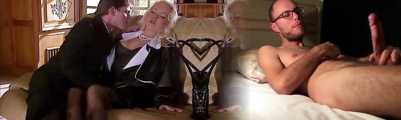 Silvia Saint Humps the Lawyer and Drains His Cum