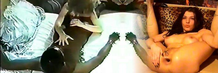 Bi-racial retro video