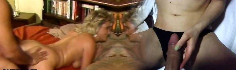 Ron Jeremy fucks hot blonde