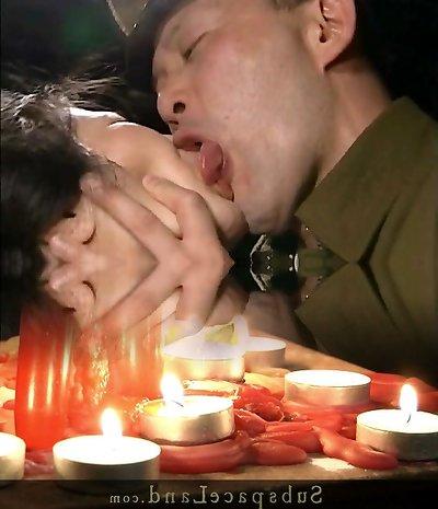 Tongue Kissing Interrogation Threesome