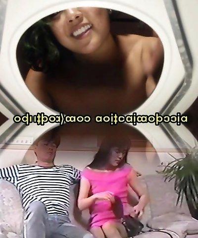 Asian Dominatrix Pee Toilet POV