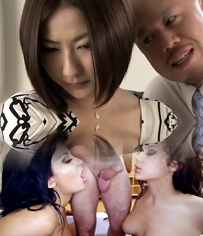 Mischievous Japanese whore in Hottest Handjob, Blowjob JAV movie