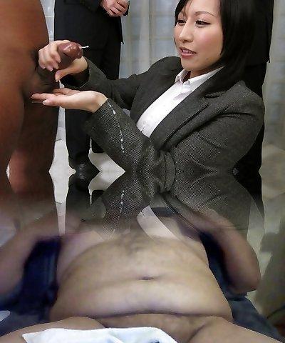 Amazing Japanese whore Yuuna Hoshisaki in Greatest JAV uncensored Handjobs clip