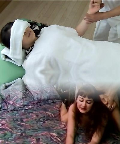 Gorgeous Jap gets plumbed in horny spy cam massage clip