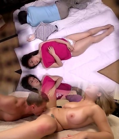 Erotic Rubdown Next To The Husband You Are Sleeping Voyeur Motel Masseur
