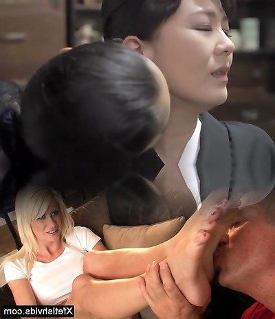 Insane Japanese dame in Exotic Teens, HD JAV clip