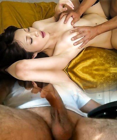 Astounding Japanese damsel Sara Yurikawa in Hottest JAV uncensored MILFs clip