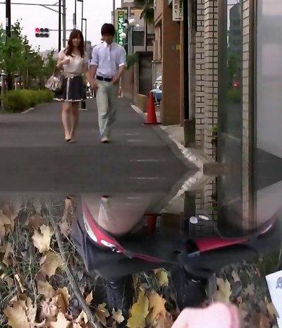 Amazing Japanese slut Kaede Fuyutsuki in Fabulous Underwear, Couple JAV clip