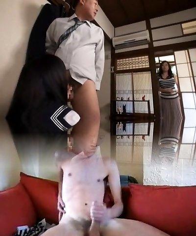 Amazing Japanese dame Saya Takazawa, Nami Omi in Horny JAV scene