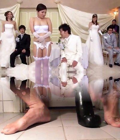 Exotic Japanese whore Ririka Misuzu, Ruka Ichinose, Azusa Maki in Horny Fingerblasting, Public JAV flick